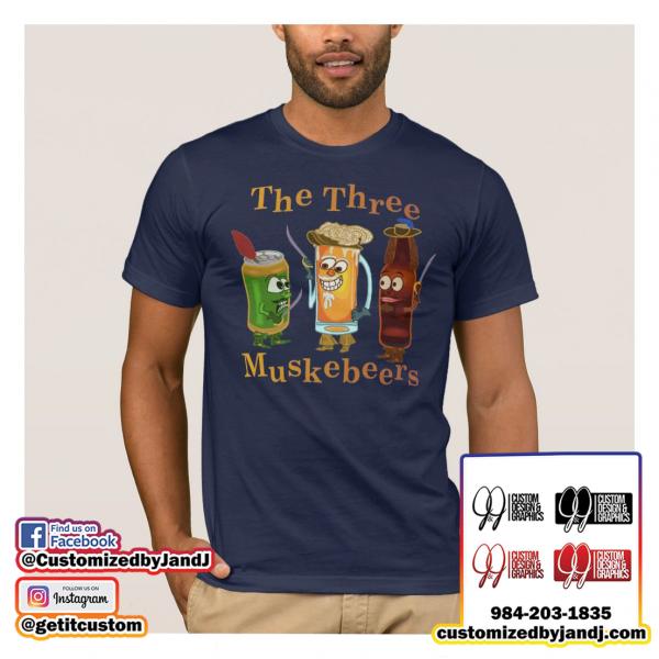 Three Muskebeers T-Shirt